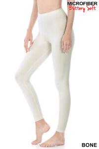 Zenana Long Leggings Yoga Pants Butter Soft Quality Stretch S-XL Plus 1X-3X USA