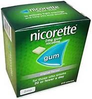 Nicorette Chewing Gum Orginal  210 Pieces - 2mg