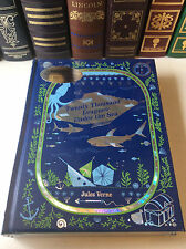 Twenty Thousand Leagues Under the Sea by Jules Verne - New sealed- leather-bound