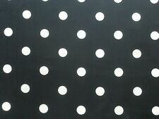 Ralph Lauren Curtain Fabric Georgette Dot 1.9m Navy Blue Spot Design 190cm