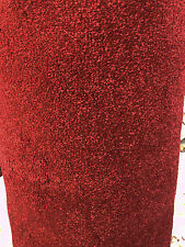 Carpet Remnant Roll End Serendipity Soft Touch Deep Red Carpet 4.00x2.95m
