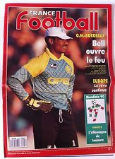 France Football 10/4/1990; Mondial 90; l'Allemagne/ Usuriaga/ Baratelli/ O.M.