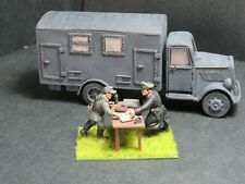 28mm Warlord Games Bolt Action German command opel blitz truck painted models