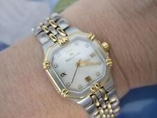 Maurice Lacroix CALYPSO Damenuhr Diamanten Quarz Vergoldet 75562/5074  Neu