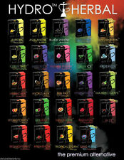 20 50G boxes Fantasia & HYDRO HERBAL Flavored Molasses For HOOKAH Shisha