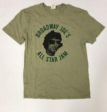 Broadway Joe's All Star Jam Joe Namath Foundation T-Shirt Size L New 9/11/2019