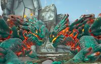 Ark Survival Evolved Xbox One PvE | Top Stat Cyan Magmasaur Clone 220 w/Saddle