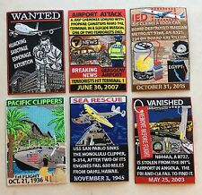 x6 Patches in Aviation Patch Series:LARGE GMAN Patches NEW