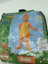 Buddy Dinosaur Train Halloween Costume 3-4T Medium Orange New