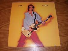 """BOB WELCH """"BOB WELCH"""" 1981 RCA AFL1-4107"""