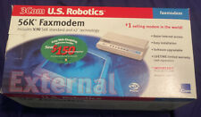 US Robotics Model No. 5686 56k External Serial Data Fax Modem New Open Box