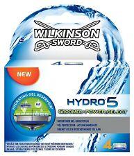 Wilkinson Sword Hydro 5 Groomer & Power Select Men's Razor Blades - Pack of 4