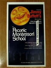 Jimmy Buffett'S Acoustic Harvest Moon Benefit Concert Poster- V'Rare