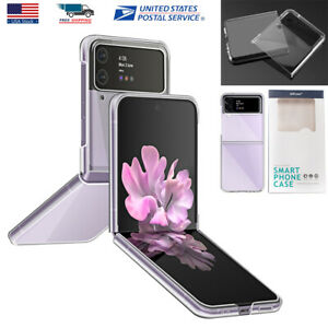 For Samsung Galaxy Z Flip3 5G Case Clear Shockproof Protective Hard Slim Cover