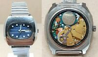 Orologio Continental caliber esa 9158 elettromeccanico vintage rare clock mentre