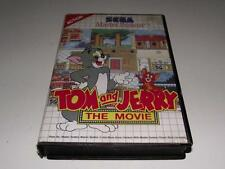 Tom and Jerry The Movie Sega Master System PAL Preloved *Complete*