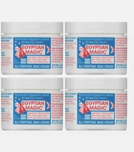 Egyptian Magic All Purpose Skin Cream 1.5 fl. Oz/each (4 PACK) MADE IN USA