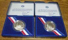 1986 S Liberty Half Dollar Proof Coins (2) Statue of Liberty