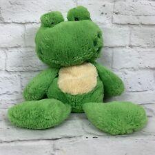 《Nat & Jules》Green•Frog•Pl ush Demdaco•Soft Snuggly Lovey! •♡Fast Ship!♡