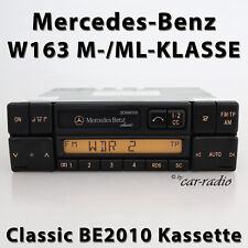 Original Mercedes Classic BE2010 Becker Kassettenradio W163 Radio M ML Klasse CC