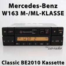Original Mercedes Classic BE2010 Becker Kassettenradio W163 Radio M ML Klasse CC