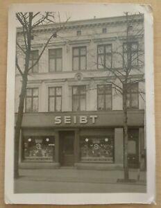 Foto Rostock Fleischerei Paul Seibt Barnstorfer Weg 51 1940 50Jahre Bestehen