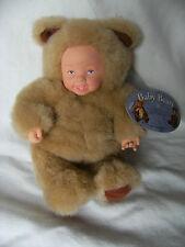 """Anne Geddes bébé ours poupée! avec Étiquettes 9"""""""