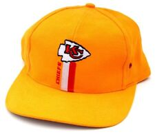 NFL Kansas City Chiefs Yellow Snapback Cap Hat Logo 7