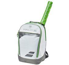Babolat Club Backpack Wimbledon Tennis Bag Black White Green Racquet NWT 753069