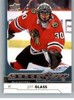#521 Jeff Glass Young Guns Rookie Chicago Blackhawks