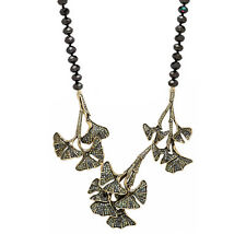 """Lovely """"Ginko Leaf"""" Necklace by Heidi Daus"""