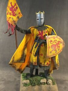 """CUSTOM 12"""" ROBERT THE BRUCE, KING OF SCOTS, MEDIEVAL WARRIOR 1/6 SCALE FIGURE."""