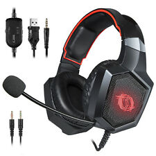 Game Lab Phantom Pro LED Gaming Headset for PS4, Xbox One, PC, Nintendo Switch
