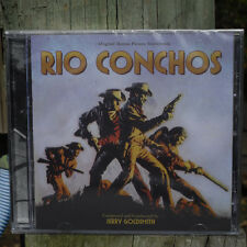 Rio Conchos 1964 Film Score Jerry Goldsmith Stereo Tracks! Sealed Kritzerland CD