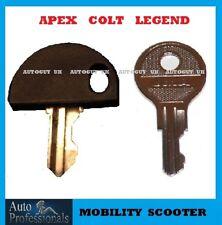 2  Mobility scooter keys  Apex  GoGo  Celebrity Colt  Pride  Sport  Traveller