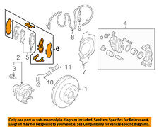 NISSAN OEM Brake-Front-Hardware Kit 410800V726