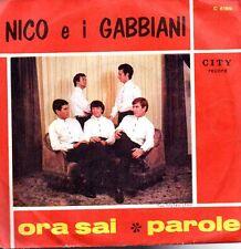 45 giri- Ora sai-Parole (Nico e i Gabbiani)- SC2