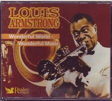 LOUIS ARMSTRONG Wonderful World - Wonderful Musik  Reader's Digest 3 CD BOX  OVP