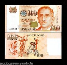 SINGAPORE 100 DOLLARS 2010-2011 RED CROSS ST.JOHN POLICE SCOUT 1 SQUARE UNC NOTE