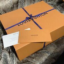 100% authentic LOUIS VUITTON GIFT BOX EMPTY LV box orangemagnetic 51*41*19cm