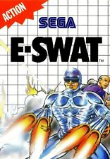 E-SWAT - SEGA Master System (Complete & Good Condition)