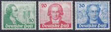 Berlin 61/63 ** 200. Geburtstag von Goethe, kpl. postfrisch