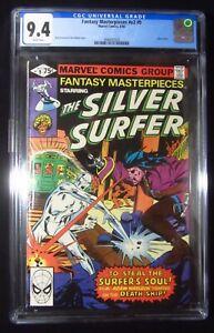 Fantasy Masterpieces Silver Surfer #9 CGC 9.4 (1980 Marvel)...Adam Warlock app.
