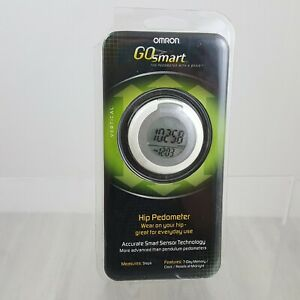 Omron Go Smart Hip Pedometer HJ-150 With Accurate Smart Sensor Technology New