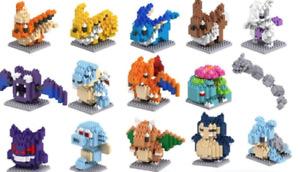 Pokemon Mini Nano Building Lego Blocks Puzzle Toy