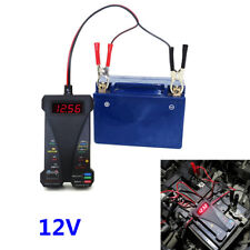 Car Digital Battery Tester Voltmeter & Charging System Analyzer With LCD Display