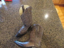 Corral western Womens 6.5 Distressed Studded Overlay Cowgirl Boot Snip Toe G1267