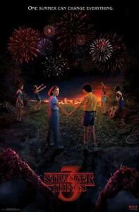 "Trends International Netflix Stranger Things: Season 3 Key Art Poster 22"" x 34"""