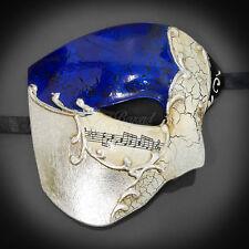 Phantom of the Opera - Royal Blue Musical Mardi Gras Venetian Masquerade Mask