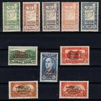 G139062/ FRENCH SYRIA – MAURY # 283 / 287 - 293 / 294 - PA118 / PA120 MNH / MH